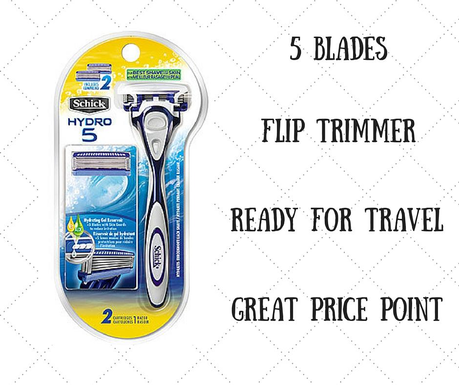 5 Blades
