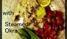 Pan Fried Coconut Salmon