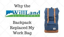 Why I replaced my Work Bag with a Backpack