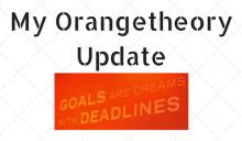 My Orangetheory Update